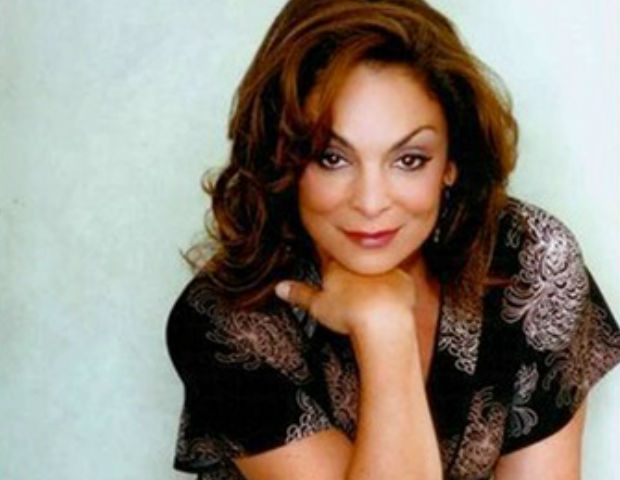 Jasmine Guy poses for an elegant photo shoot.