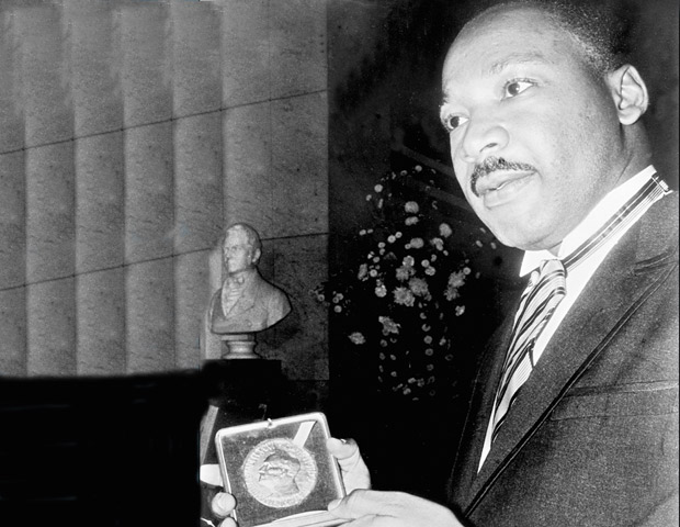 mlk noble peace prize