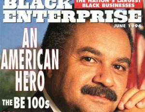 Historic Black Enterprise Magazine Covers: Ronald H. Brown, June 1996