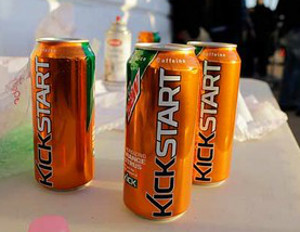 "Mountain Dew Enters the Energy Drink Market with ""Kickstart"""