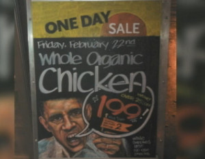 whole foods obama organic chicken