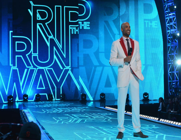 boris kodjoe modeling rip the runway