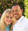 Photos like this -- posted to the Facebook accounts of Tiger Woods and new girlfriend Lindsey Vonn -- were strategic, Woods says.