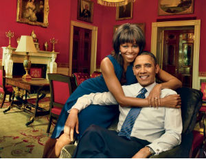 barack and michelle vogue magazine