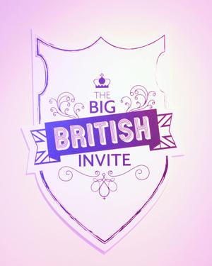 Signage at The Big British Invite (Image: Source)
