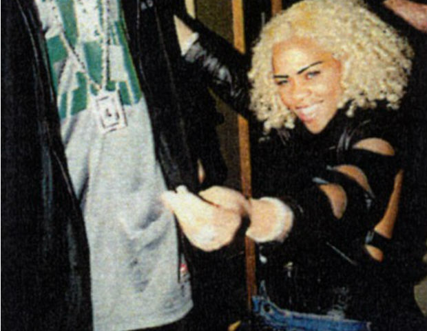 lil kim in blonde