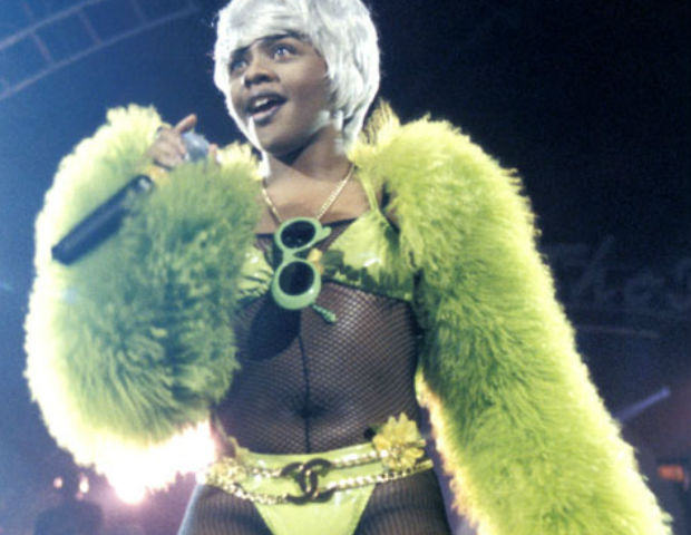 lil kim in green