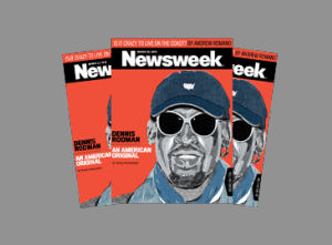 Dennis Rodman, 'An American Original,'  Covers Newsweek