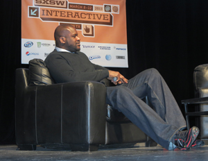 Shaquille O'Neal unveils his inner geek at South by Southwest (Image: Mike Street)
