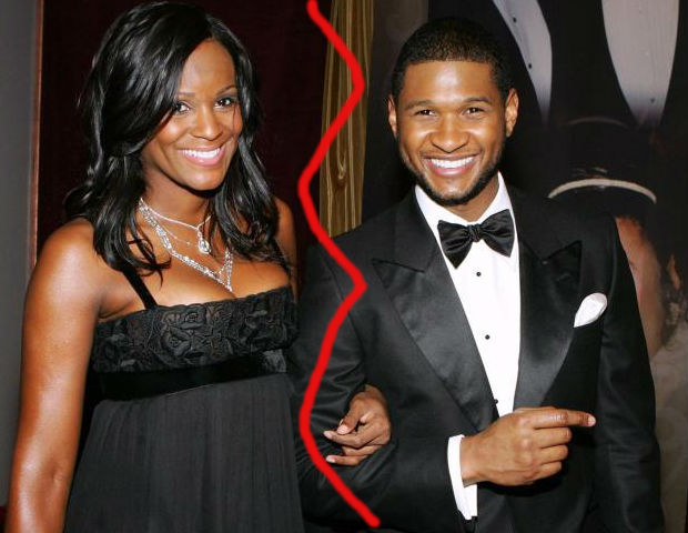 Usher Raymond separates from his wife, Tameka, after just one year of marriage.