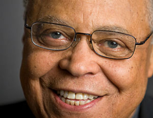 james earl jones laughing