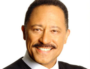 judge joe brown smiling