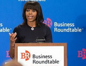 Michelle Obama calls on Business Leaders to Hire Veterans