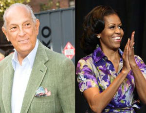 Oscar de la Renta Says Michelle Obama Does Not Influence Fashion Today