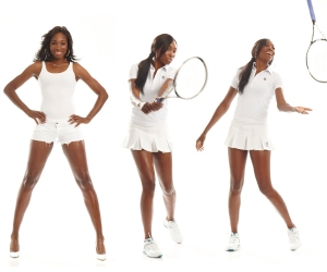 Venus Williams Showcases Her EleVen Clothing Line