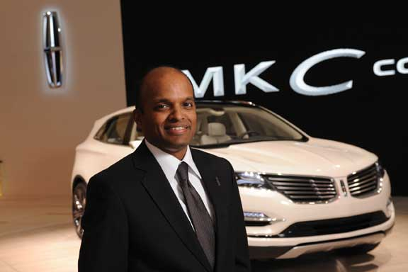 Nair Stresses that Ford seek to provide eco-friendly options.