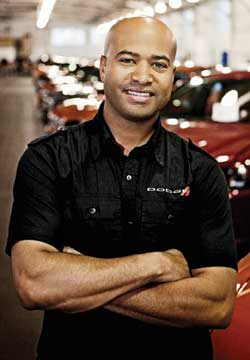"The good news is all this great news for Chrysler has really helped us become a brand for [black and Latino engineers] to want to be associated with. It's been a lot easier lately to bring on young talent."" —Gilles"