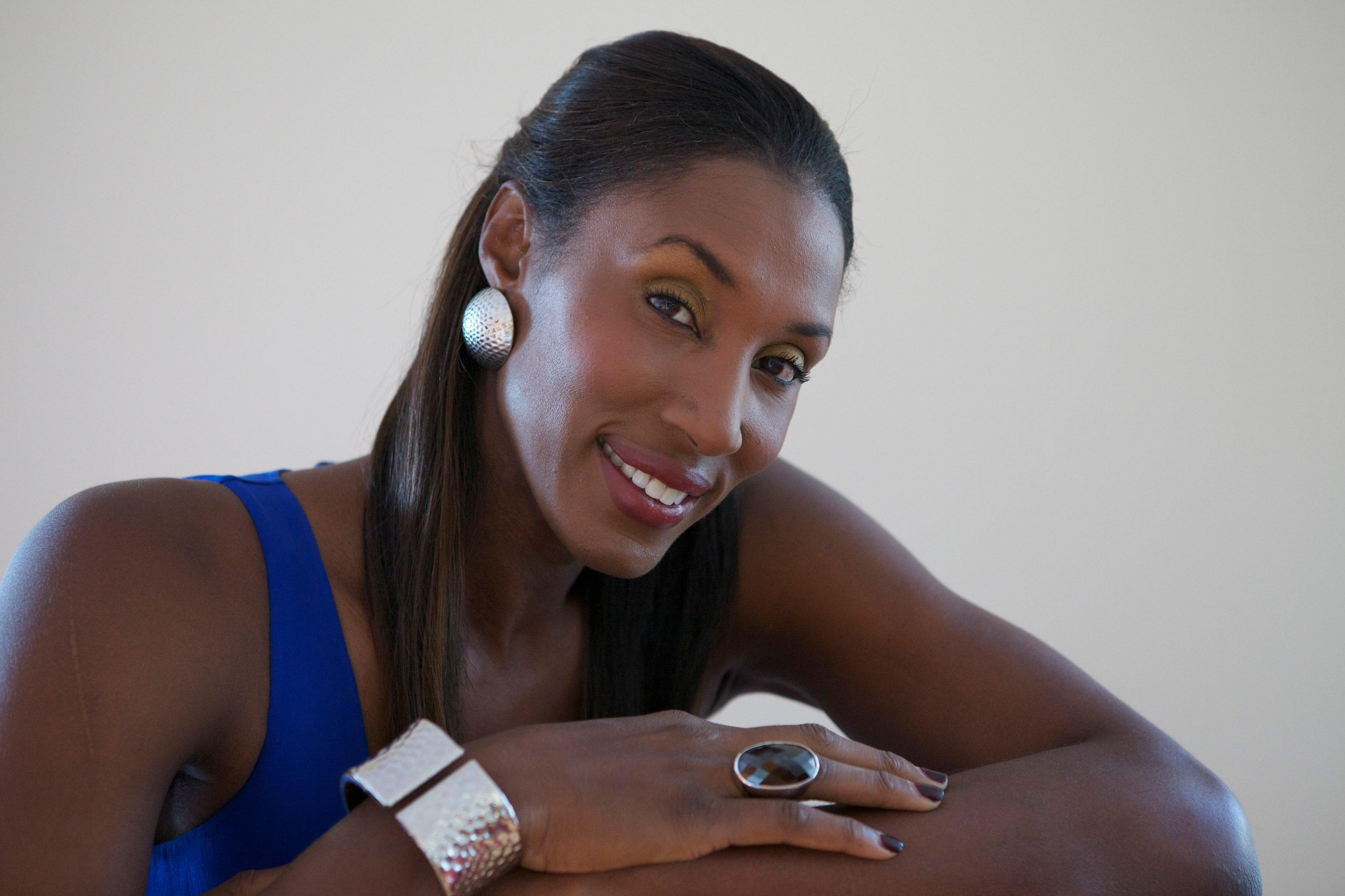 Womens basketball legend Lisa Leslie.
