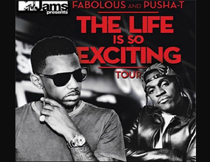 Hip Hop Lyricists Fabolous and Pusha T Embark on 30 City Tour
