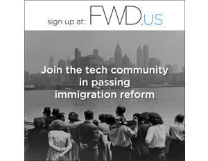 Facebook CEO Mark Zuckerberg and tech heavyweights announce political advocacy group, FWD.us (Image: FWD.us)