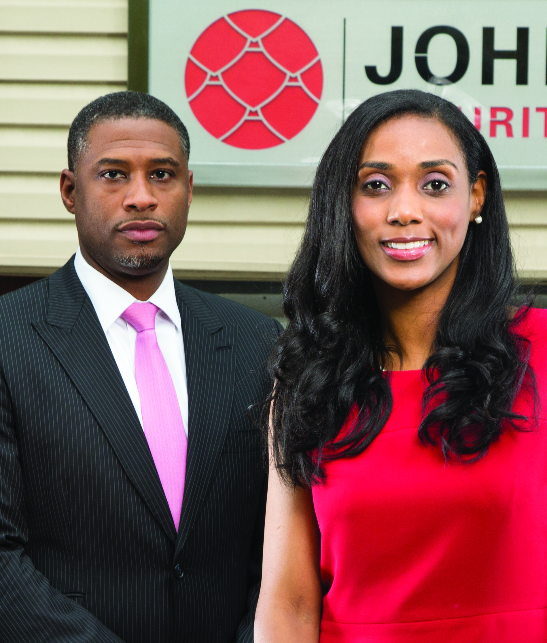 Jessica Johnson and Brother Charles