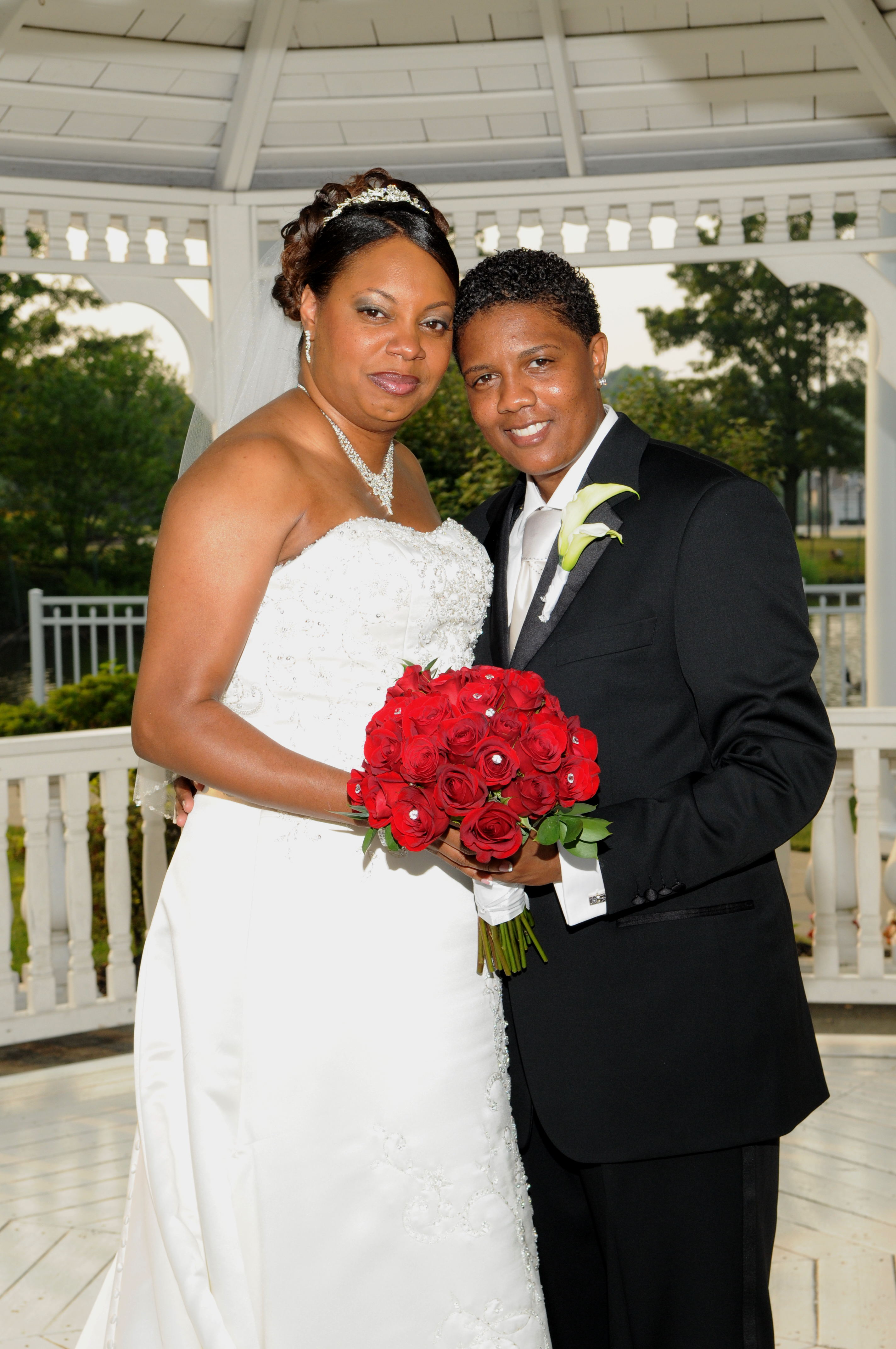 Federal benefits present a challenge for Tasha and Kaali Cohen who obtained a civil union in New Jersey