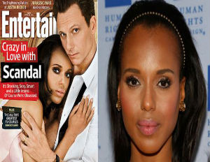 Was Kerry Washington's Skin Lightened for Entertainment Weekly Cover?