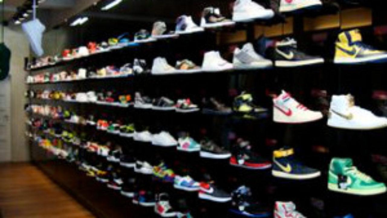 nike sneaker shop