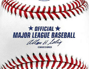 official mlb game ball