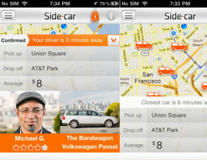 Sidecar Ride App >> New Ride Sharing App Sidecar Gives Ny Ers A Ride Home
