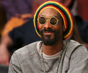 snoop lion smiling