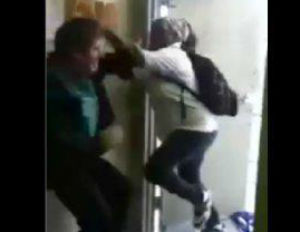 7th Grade Girl Beats Up Male Middle School Teacher