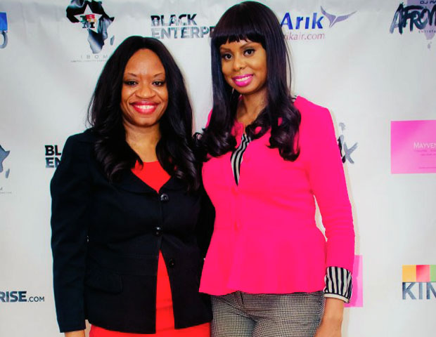 IBOM L.L.C. founder, Anie Akpe-Lewis, and event host Janell Hazelwood, of BlackEnterprise.com came together again for a second time for the landmark event.