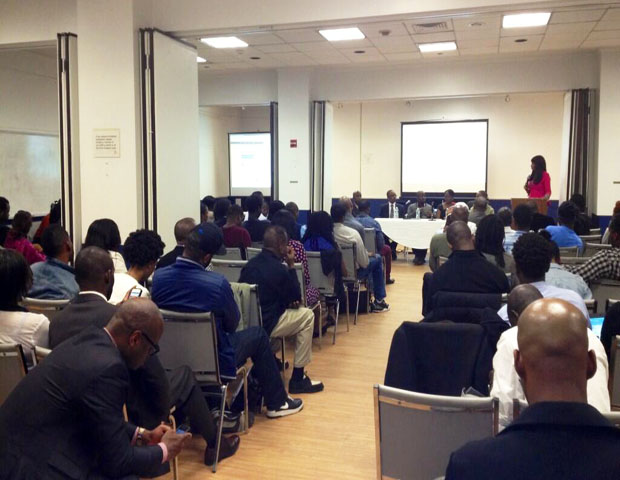 Janell Hazelwood, associate producer at BlackEnterprise.com, hosted the event, which included more than 100 eager entrepreneurs, students and tech industry enthusiasts.