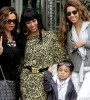 Beyoncé, Solange, Tina Knowles and Solange's son, Daniel Juelz Smith, Jr.