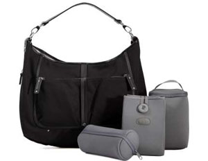 For women who do it all but want to look great at the same time, Evie Bett's BPA-, lead-, and phthalate-free diaper bags, insulated coolers, and changing clutches are both sleek and sophisticated, with washable, stain- and spill resistant removable pockets and linings.