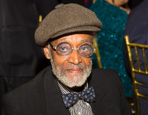 Guests at the event included iconic filmmaker and author Melvin Van Peebles.