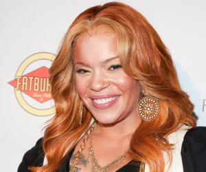 faith evans smiling