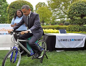 Teens Create Bicycle-Powered Water Filtration System to Provide Safe Drinking Water