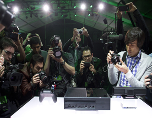 Xbox One following the Xbox One reveal event on Tuesday, May 21, 2013, in Redmond, Washington (Image: Karen Ducey/Invision for Microsoft/AP Images)