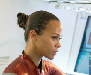 Zoe Saldana is Uncomfortable Talking About Race
