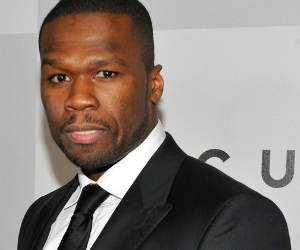 50 cent in  suit