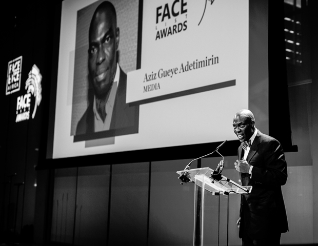 Honoree Aziz G. Adetimirin, founder of The Network Journal, was honored for his more than 20 years of highlighting business leaders of color.