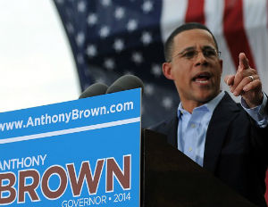 anthony brown governor