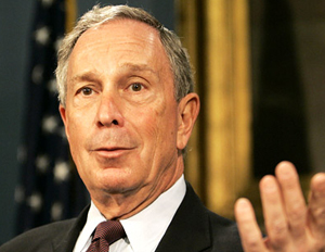 mayor michael bloomberg puzzled