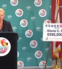 The Powerball jackpot winner did not appear at her press conference.