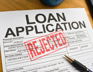 bank loan rejected