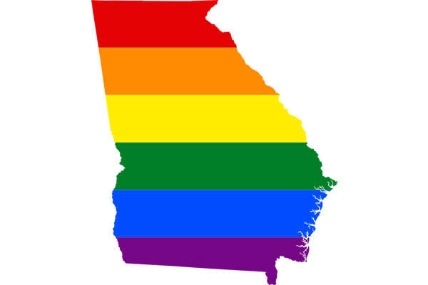 LGBT Map of Georgia State