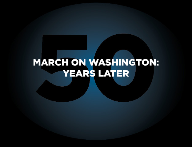 """We reveal whether African Americans have made significant progress 50 years after the March on Washington   As thousands travel to the nation's capital to commemorate the 50th Anniversary of the March on Washington for Jobs and Freedom , we continue to grapple with the question of whether African Americans collectively has made significant progress worthy of Rev. Martin Luther King, Jr.'s epic """"I Have A Dream"""" Speech.  It's true African Americans no longer suffer the injustices of Jim Crow and that we have made significant political achievement – most notably, the election of America's first African American president, Barack Obama, for two terms – but we still confront the nagging problems of poverty, unemployment and racism.    And the fact that such challenges continue to persist has never been more evident than the failure of a jury to hold George Zimmerman accountable for slaying Trayvon Martin as well as the Supreme Court's decision in June to dismantle the 1965 Voting Rights Act. Revealing data compiled by the U.S. Census Bureau  as well as information from the Pew Research center's recent report on the economic, political and social status of African Americans,  Black Enterprise – using the design talents of our Creative Director Terence Saulsby – provides a graphic snapshot of where we stand as a people today compared to that historic day in 1963. Have we realized the dream? You decide."""
