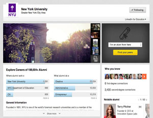 LinkedIn Targets Students With New University Pages